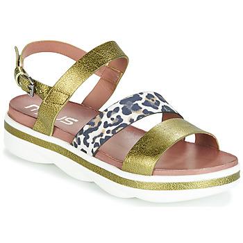 Shoes Women Sandals Mjus TALISMAN Green / Leo