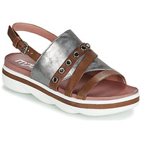Shoes Women Sandals Mjus TALISMAN Camel / Silver