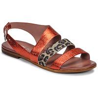 Shoes Women Sandals Mjus CHAT BUCKLE Red / Leopard