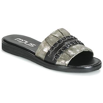 Shoes Women Mules Mjus TEMPLE Kaki / Black