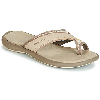 Shoes Women Flip flops Columbia KEA II Beige