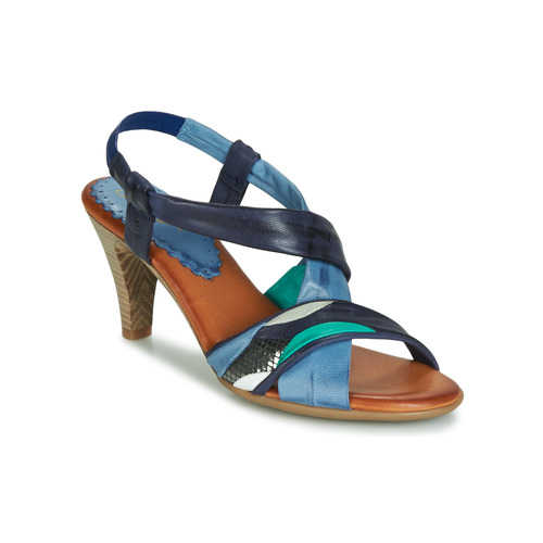 Shoes Women Sandals Betty London POULOI Blue / Green