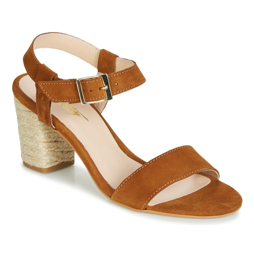 Shoes Women Sandals Betty London JIKOTIFE Camel