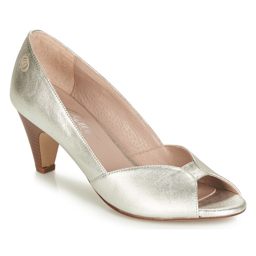 Shoes Women Heels Betty London JIKOTIZE Silver