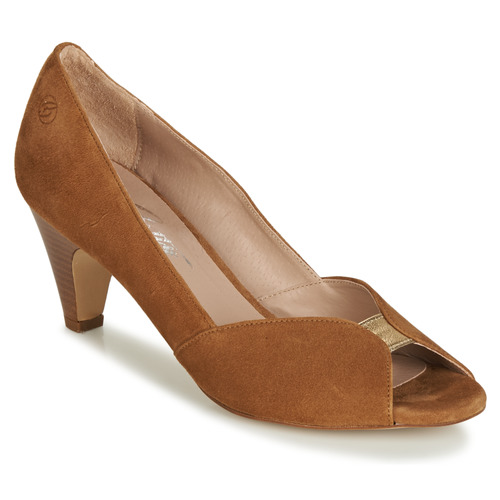 Shoes Women Heels Betty London JIKOTI Camel