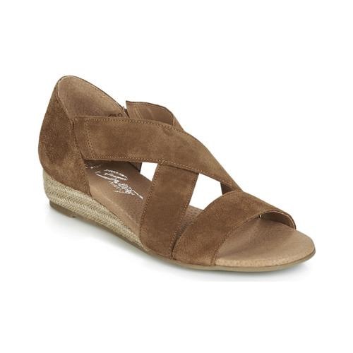 Shoes Women Sandals Betty London JIKOTE Camel