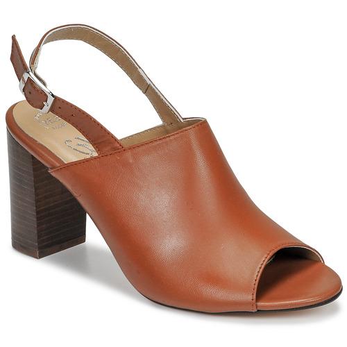 Shoes Women Sandals Betty London JIKOTEGE Camel