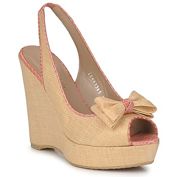 Shoes Women Sandals Fericelli MARLINE Beige / Brown