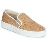 Shoes Women Slip-ons Dream in Green JAKAMORI Beige