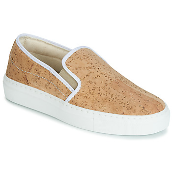 Shoes Women Slip-ons Dream in Green JAKAMORI Beige
