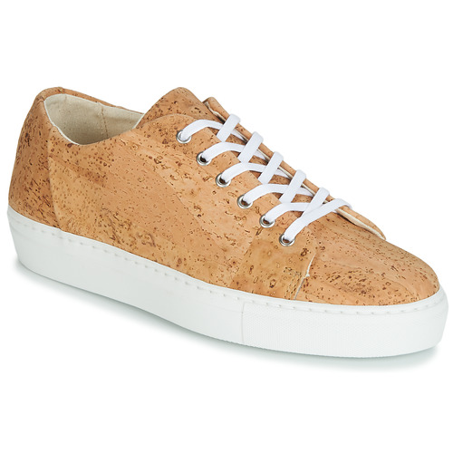Shoes Women Low top trainers Dream in Green JAKANIS Beige