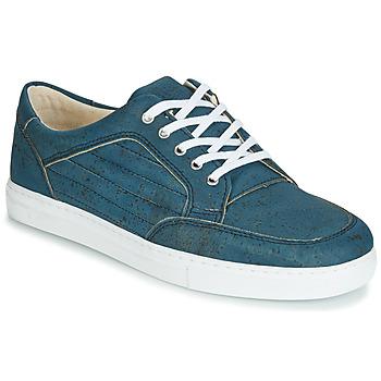 Shoes Men Low top trainers Dream in Green JAKAUREL Marine