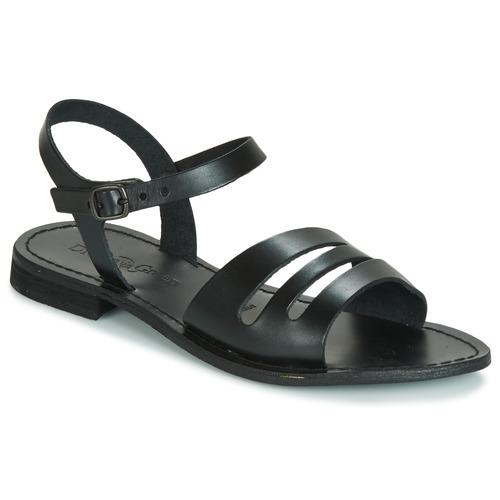 Shoes Women Sandals Dream in Green JAKALETTE Black