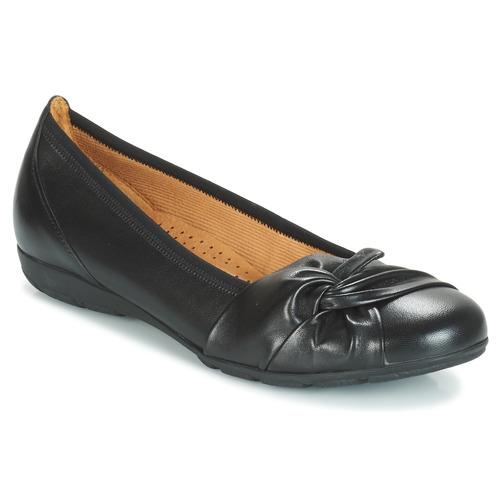 Shoes Women Flat shoes Gabor MATILDA Black