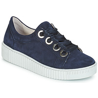 Shoes Women Low top trainers Gabor POMPON Marine