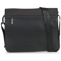 Bags Men Messenger bags Chabrand ST ANTOINE MESSENGER RABAT Black
