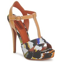 Shoes Women Sandals Missoni TM69 BEIGE / Multicoloured