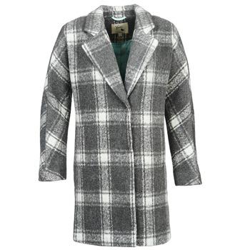 Clothing Women Coats Yumi EHIME White / Grey