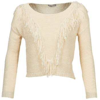 Clothing Women jumpers Betty London CAZE Beige
