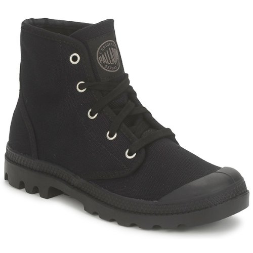 Shoes Women Mid boots Palladium PAMPA HI US Black