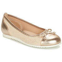 Shoes Girl Flat shoes André RIVAGE Gold