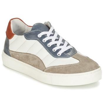 Shoes Boy Derby Shoes André ALBATROS White
