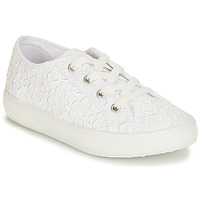 Shoes Boy Low top trainers André MARGHERITA White