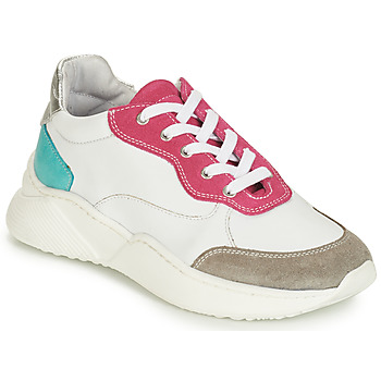 Shoes Girl Low top trainers André WENDY White / Red / Blue