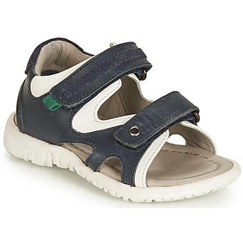 Shoes Boy Sandals André HAMAC Marine