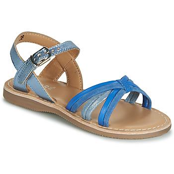 Shoes Boy Sandals André AZUR Blue