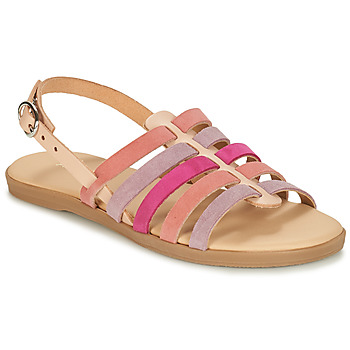 Shoes Girl Sandals André INDRA Pink