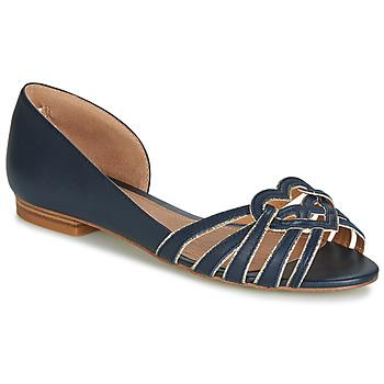 Shoes Women Flat shoes André CHRISTIE Marine