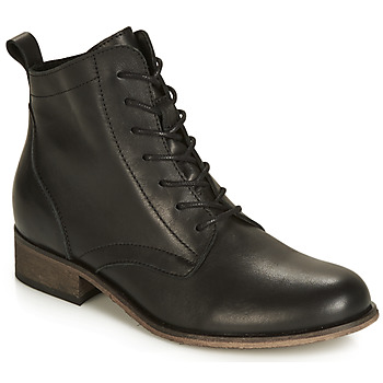 Vintage Boots, Retro Boots André  GODILLOT  womens Mid Boots in Black £55.80 AT vintagedancer.com