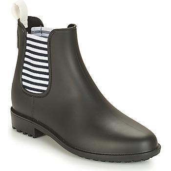 Shoes Women Wellington boots André SKIPPER Black