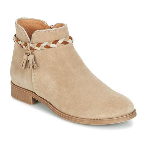 Shoes Women Mid boots André RAVIE Beige