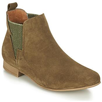 Shoes Women Mid boots André ROCKA Kaki