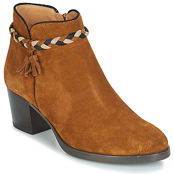 Shoes Women Ankle boots André RADIEUSE Brown