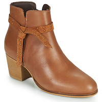 Shoes Women Ankle boots André ROMANE Beige