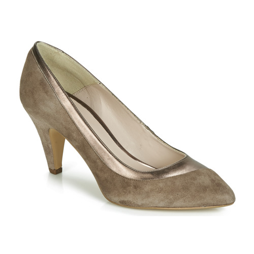 Shoes Women Heels André CHAHUTEUSE Taupe