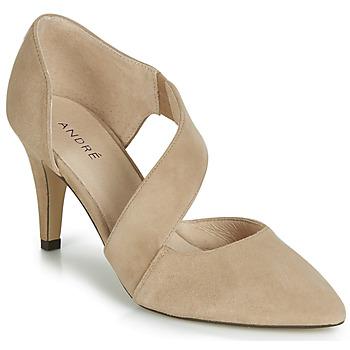Shoes Women Heels André SOIE Beige