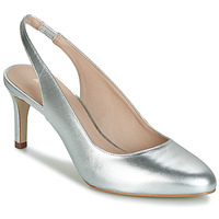 Shoes Women Heels André CASINO Silver