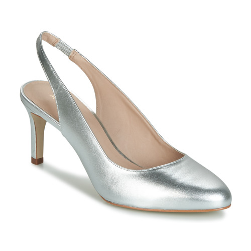 Shoes Women Heels André CASINO Silver