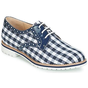 Shoes Women Derby Shoes André DERIVEUR Blue