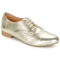 Shoes Women Derby Shoes André COMPLICITY Gold