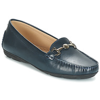 Shoes Women Loafers André CABRIOLE Blue