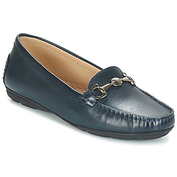 Shoes Women Loafers André CABRIOLE Blue