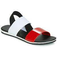 Shoes Women Sandals André SATANAS Red