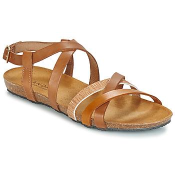 Shoes Women Sandals André ATTLAS Brown