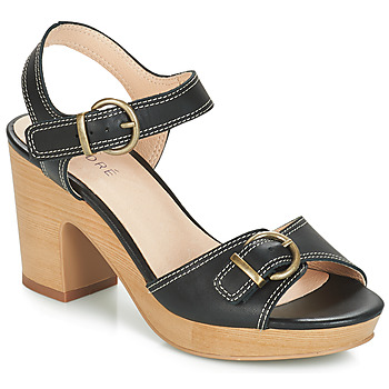 Shoes Women Sandals André ROULOTTE Black