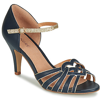 Shoes Women Sandals André CAGLIARI Marine